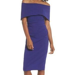 Vince Camuto Popover Purple Dress size 2